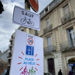 Une victoire pour la Roue libre de Thau : la ville de Sète autorise enfin le double-sens cyclable dans la zone 30 du centre-ville.