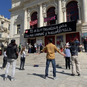 Occupation du Théatre Molière à Sète