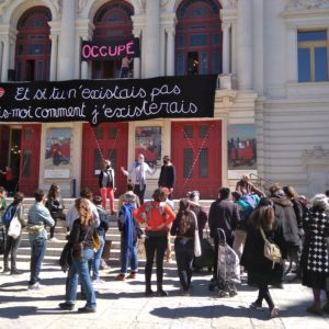 Sète: Occupation du théâtre Molière