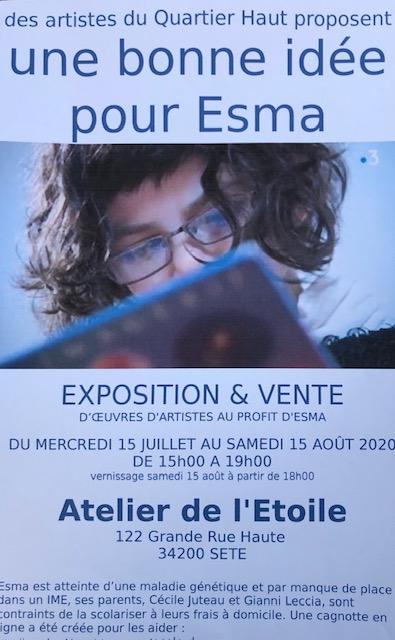 Une bonne idée pour Esma /l'affiche