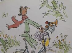 A bicyclette de Sète à Bouzigues avec La Roue libre de Thau