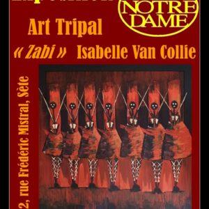 Art Tripal, l'expo d'Isabelle Van Collie